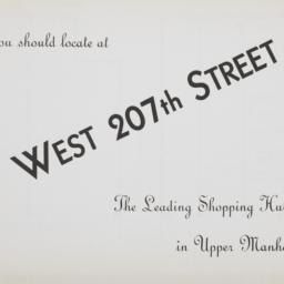 W. 207 Street And Sheman Av...