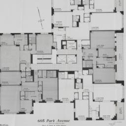 605 Park Avenue, Plan Of 16...