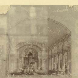 Naugatuck Church. [Interior]