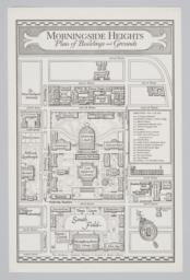 Morningside Heights, Plan of Buildings and Grounds