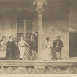 Seven People on Porch