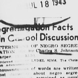 Article regarding Charles S...