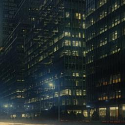 Park Avenue at Night