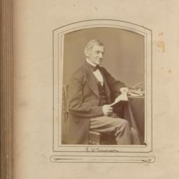 Ralph Waldo Emerson, Seated