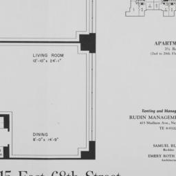 215 E. 68 Street, Apartment U