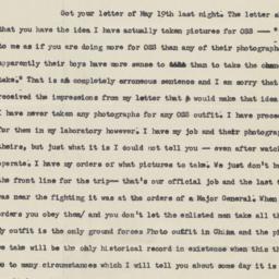 8 June 1945 letter to parents