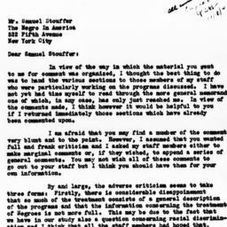 Letter from Eveline M. Burn...