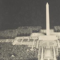 [Model of Washington Monument]