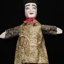 Hand Puppet With Red Scarf