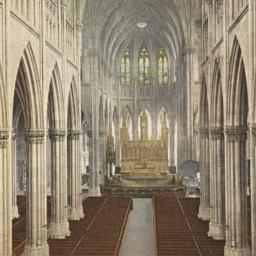 Interior of St. Patrick's C...