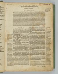 Folio 3r; First Page Of Genesis