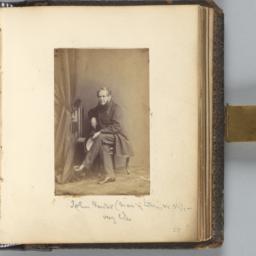 John Forster, Seated