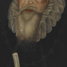 Portrait of William Cecil, ...