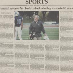 Columbia Spectator Article ...