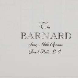 The     Barnard, 96-09 66 A...
