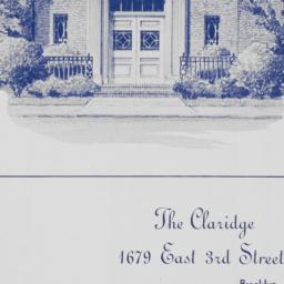The     Claridge 1670 East ...
