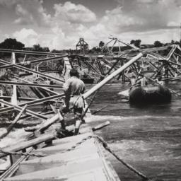 Clearing Bridge Wreckage