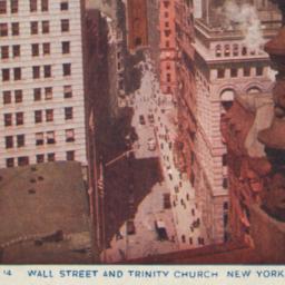 Wall Street and Trinity Chu...