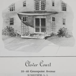 Clover Court, 39-40 Greenpo...