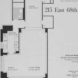 215 E. 68 Street, Apartment F