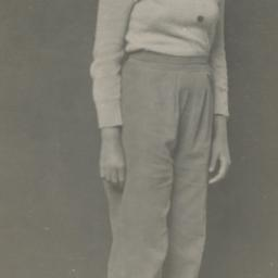 [Woman in Pants and Sweater]