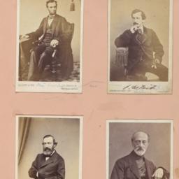 Four images: Abraham Lincol...