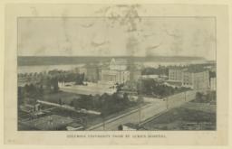 Columbia University from St. Luke's Hospital