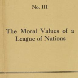 The     moral values of a L...