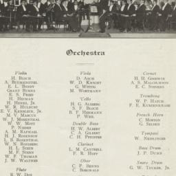 Program, Concert Philharmon...