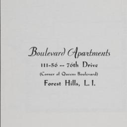 Boulevard Apartments, 111-5...