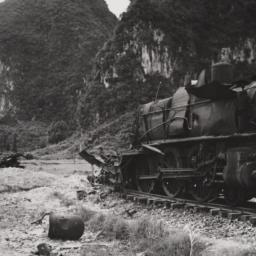 Blown-up Locomotive