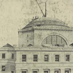 Dome of Library of Columbia...