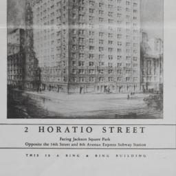 2 Horatio Street