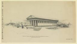Design for Georgia State Building, World's Columbian Exposition, Chicago. G. L. Morrman, Atlanta, Ga