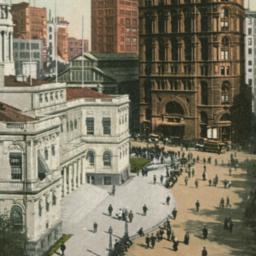 City Hall and World Buildin...
