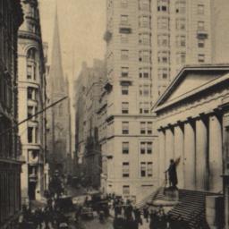 Wall Street, N.Y. City