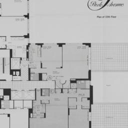 650 Park Avenue, Plan Of 15...