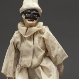 Marionette Of Figure In Whi...