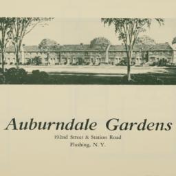 Auburndale Gardens, 192 Str...