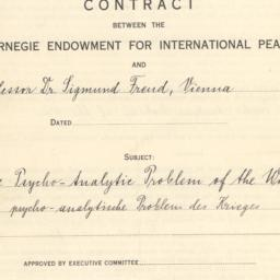 """Contract for """"The Psycho-An..."""