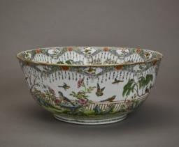 Chinese Exportware Bowl, Side view 1
