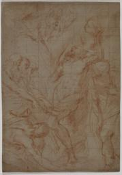 Study for the Martyrdom of St. Andrew, or The Martyrdom of St. Bartholomew