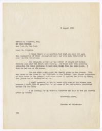 Letter from Columbiana Curator to Edward P. Chrystie