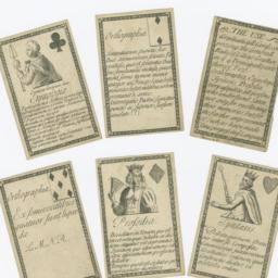 Gramaticall Cards, Comprisi...