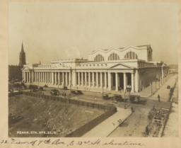 22. View of 7th Ave., & 33st [sic] St., elevations