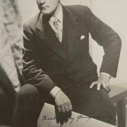Portrait of Mikhail Fokine ...