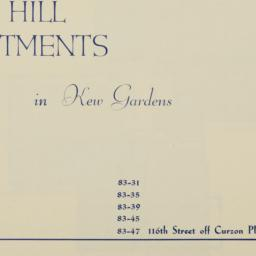 Park Hill Apartments, 83-31...