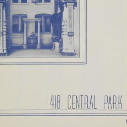 418 Central Park West