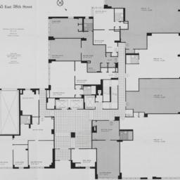 155 E. 38 Street, Plan Of L...