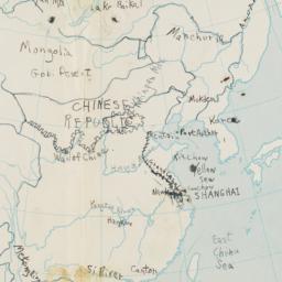 China and Japan Map